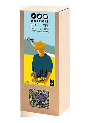 Artemis_Bio Hof Haas_Haus und Hof Kräutermischung_Teepackung